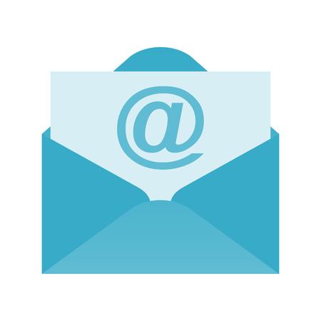 Mail vector icon Illustration