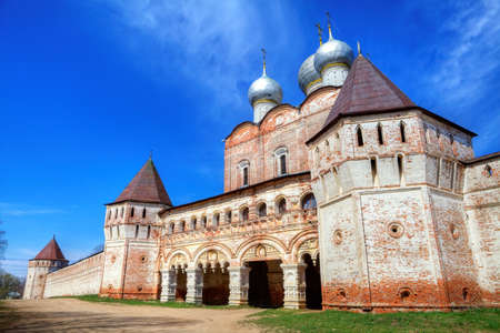 the view of St  Boris and Gleb Monastery near the Rostov photo