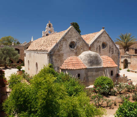 arkadia: A photo of Arkadia monastery in Crete