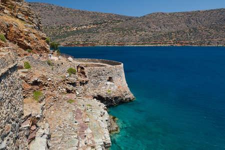 l�pre: Cr�te Gr�ce Forteresse Spinalonga - Derni�re colonie l�pre active