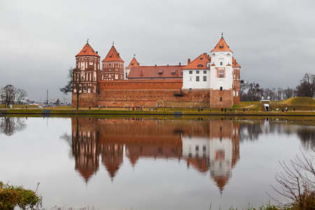 prince of peace: A castle in Mir  Built in 16th century  Is a UNESCO World Heritage site in Belarus