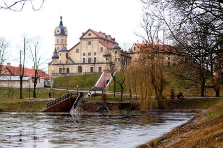 View to the Nesvizh Castle in Belarus Stock Photo - 17436655