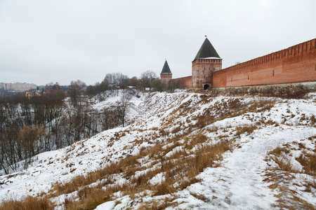 View of Kremlin wall in Smolensk, Russia Stock Photo - 17446492