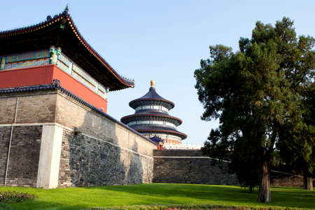 View of Temple of Heaven  Beijing  China  photo