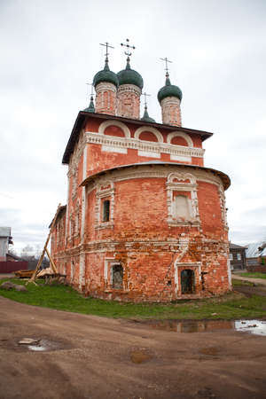 Church in Uglich in Yaroslavl region, Russia photo