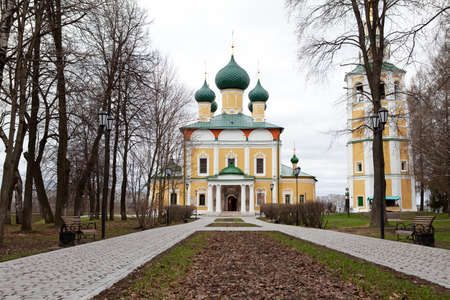 old Cathedral in the ancient town of Uglich photo