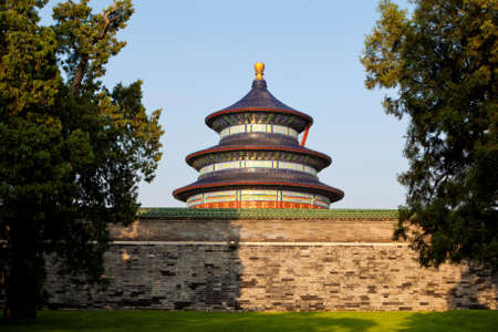 View of Temple of Heaven. Beijing. China. photo
