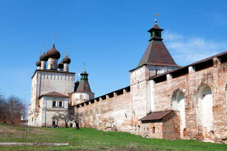 boris: the view of St. Boris and Gleb Monastery near the Rostov