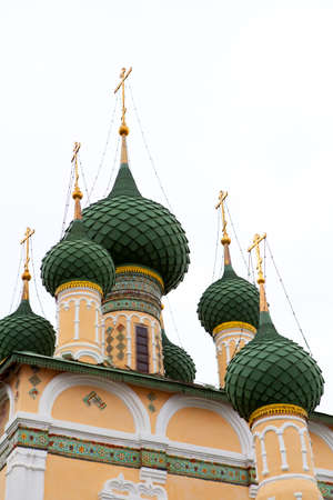 Monastery in Uglich in Yaroslavl region, Russia photo