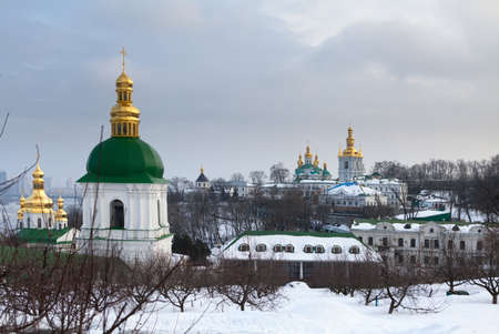 Kiev Pechersk Lavra  Orthodox Christian monastery  Kiev  Ukraine  photo