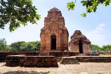 linga: The ancient Posahinu Cham Tower in Mui Ne, Nha Trang, Vietnam