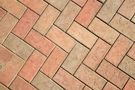 terracotta: Background from a sidewalk tile