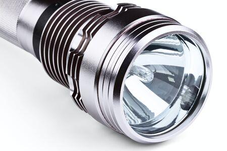 anodized: linterna almacenamiento aislado en un fondo blanco