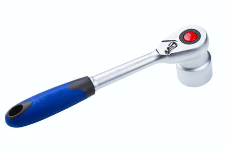 socket wrench: socket wrench isolated on a white background