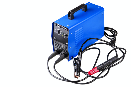 inverter welding machine isolated on white background