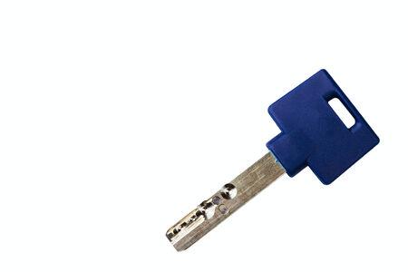 door lock key isolated on white background