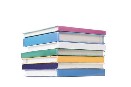 pile of books isolated on white background, International Children's Book Day