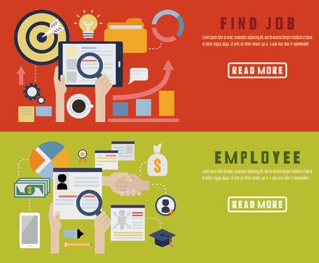 Employee motivation - icons