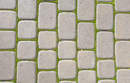 pedestrian walkway: Pedestrian Walkway  Sidewalk paving  brick Stock Photo