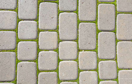 Pedestrian Walkway  Sidewalk paving  brick Banque d'images