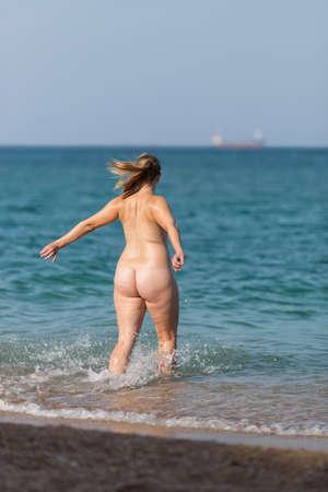 Ladies Naked On Beach