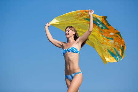 Athletic running bikini