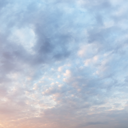 break in: textured cloudy sky during sunrise