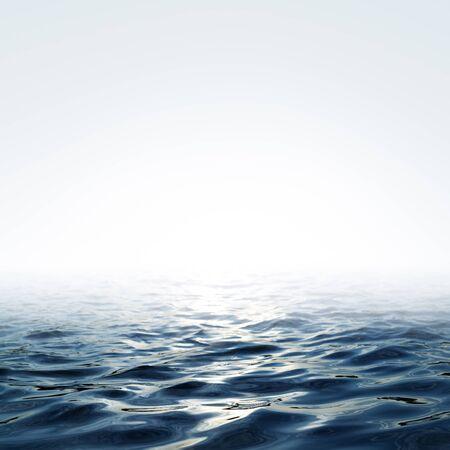 blue sea and sky over it Zdjęcie Seryjne