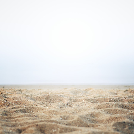 Sand on the shore background abstract Foto de archivo