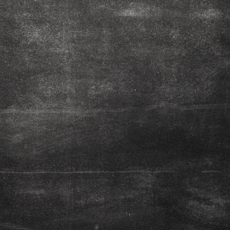 blank chalkboard: close up of a black dirty chalkboard Stock Photo