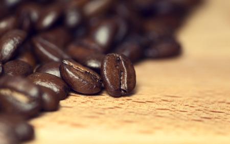 jamoke: Coffee on  wooden background