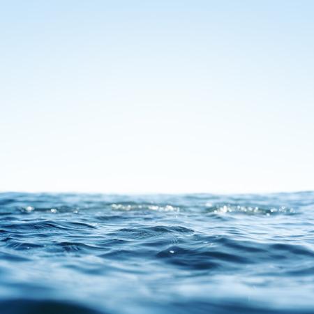 Water, Sea, Ocean, Wave. Close up Nature background. Soft focus Standard-Bild