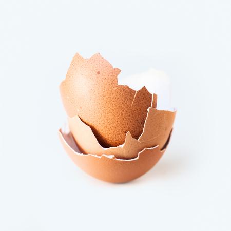 eggshell: Eggshell close-up Stock Photo