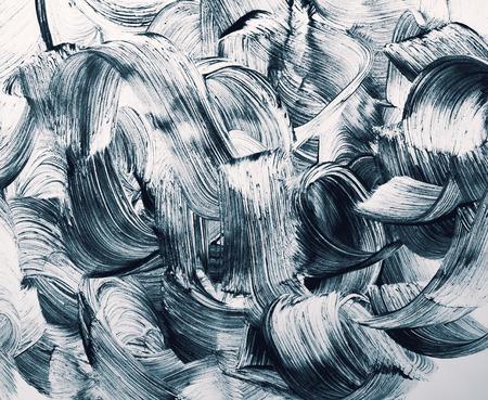 グランジのブラシ ストロークの背景 写真素材