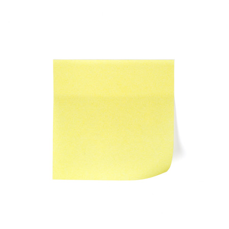 paper pin: Yellow notepad Yellow memo stick