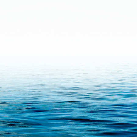 Blue sea water surface Water, Ocean, Wave. Close up Nature background. Soft focus Stok Fotoğraf