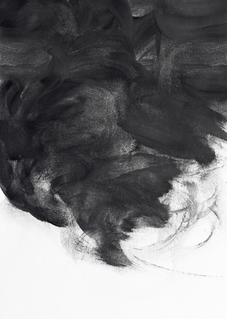 pincel: pincel grunge trazos de pintura de dise�o de fondo
