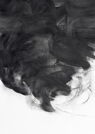 cepillo: pincel grunge trazos de pintura de diseño de fondo