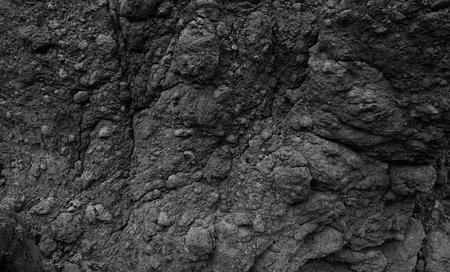 Black stone background black wall Stock Photo
