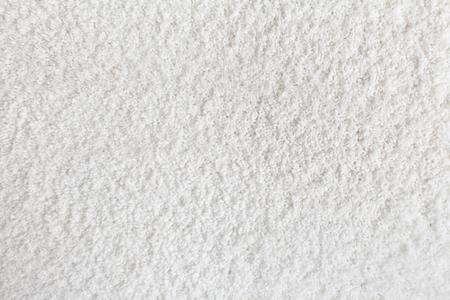 カーペットのテクスチャです。白いじゅうたん背景をクローズ アップ