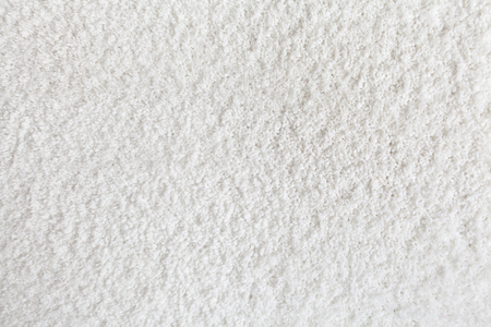 Carpet texture. White carpet background close up Foto de archivo