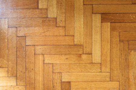 Oude Houten textuur van het parket, Fragment van vintage parketvloer