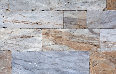 tiled wall: Marble wall tiled background