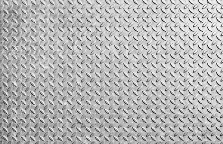 The diamond steel metal sheet, steel floor for background
