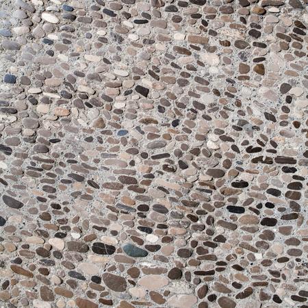 piso piedra: Suelo de piedra textura, la piedra del guijarro