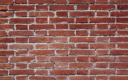 cemento: viejo ladrillo rojo textura de la pared