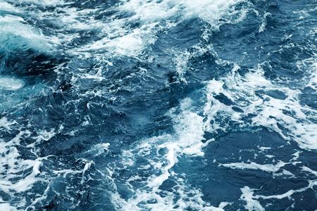 water waves: Splashing Waves,View Of Rippled Ocean Water Stock Photo