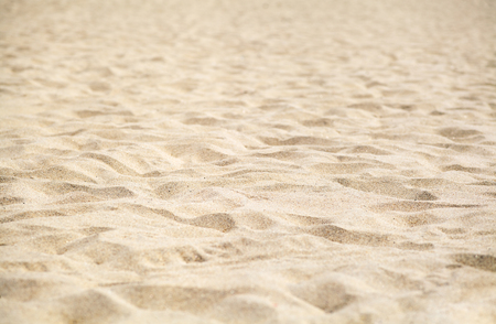Sand on beach with shallow depth of field Stock Photo