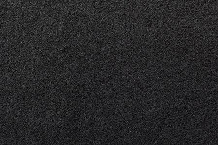 Feltro nero texture di sfondo Archivio Fotografico