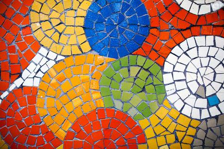 Colorful mosaic tiles Фото со стока